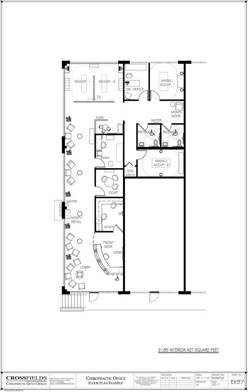132 best chiropractic floor plans images on pinterest for Floor plan example