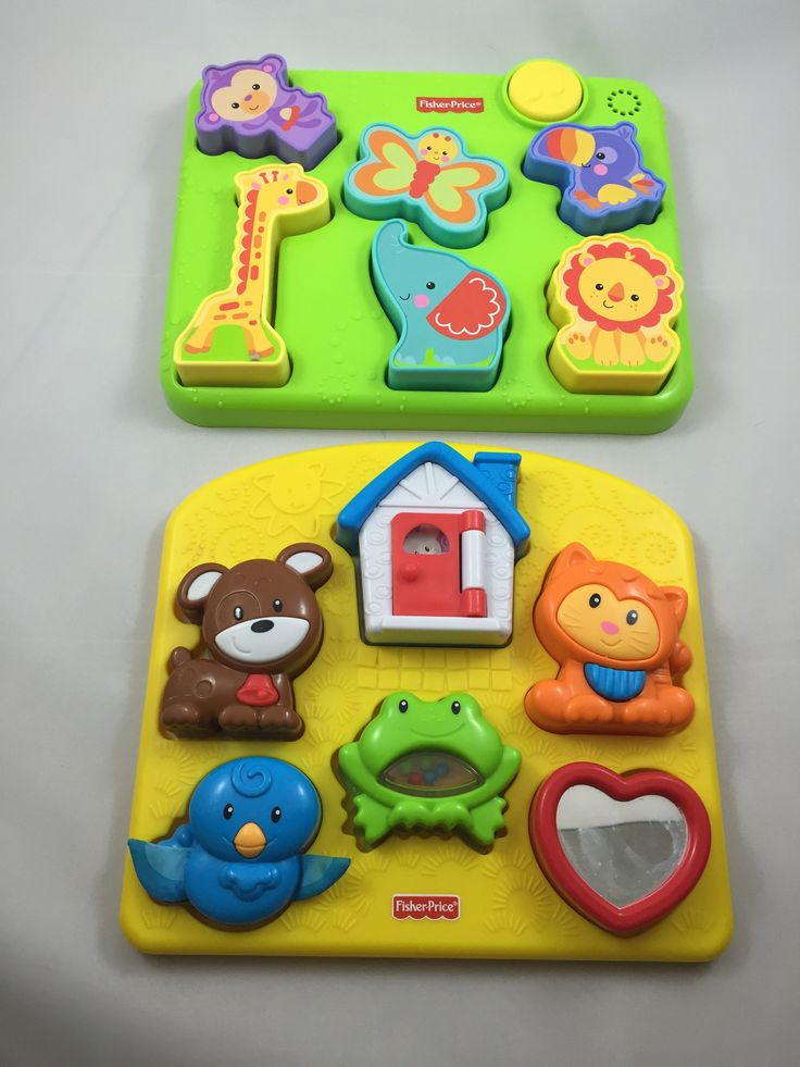 Fisher Price Set of 2 Puzzles