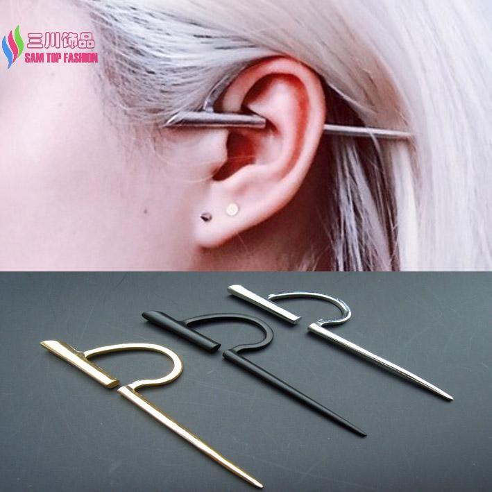 Boucles d'oreilles pour homme en or