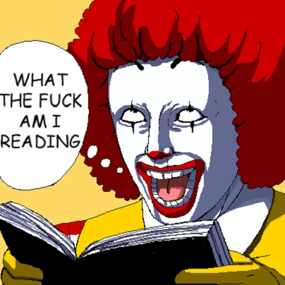 Image result for what the fuck am i reading ronald