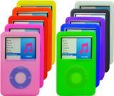 Silicone Skins Covers Cases for Apple iPOD Classic 160GB – Multiple colors