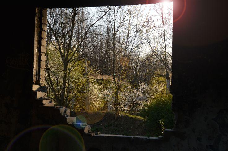 Opuszczone budynki ...