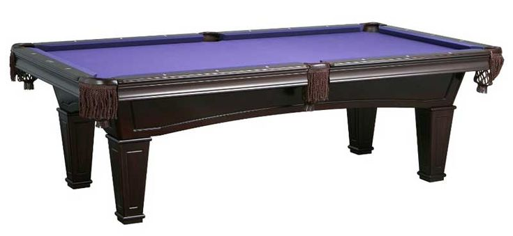 """The Best Pool Tables Under $3000 Double Cross Beam Construction means that the table won't wobble or sway when the game get intense. Pockets are made with a Cast Iron Core and wrapped in elegant Italian Leather K66 Gum Rubber Cushions 1"""" Backed Brazilian Backed Slate Genuine Mother of Pearl Double Diamond Sights Available in 3 grades of Novalan Billiard Cloth."""