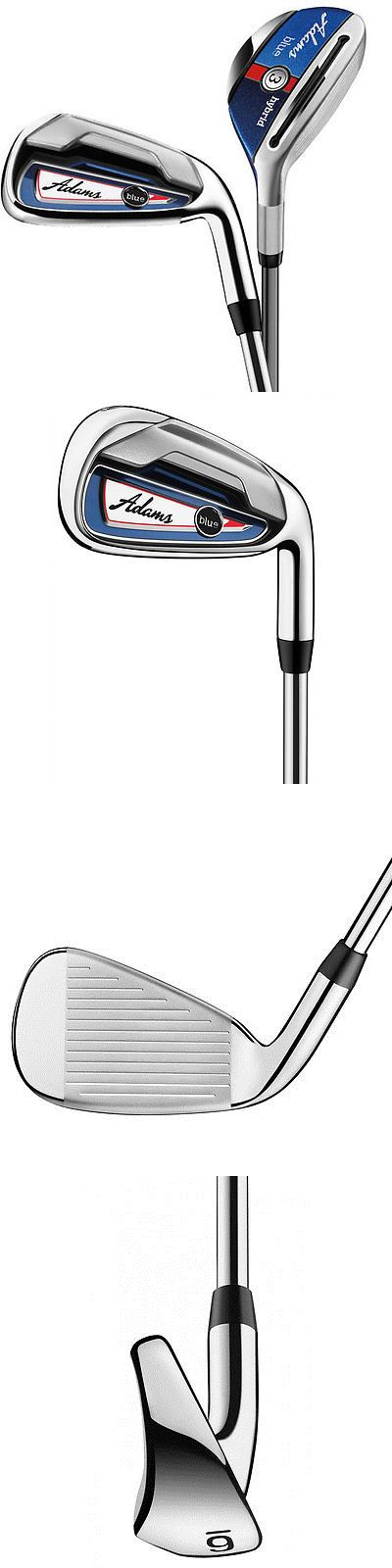 Golf Clubs 115280: New Adams Golf Blue Hybrid Combo Irons - Choose Set Composition And Flex BUY IT NOW ONLY: $279.99