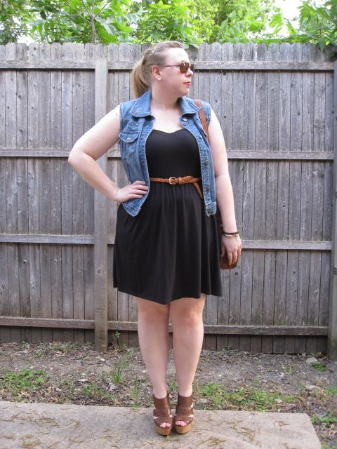 DIY FATSHION: FATSHION FACEOFF: LITTLE BLACK DRESS