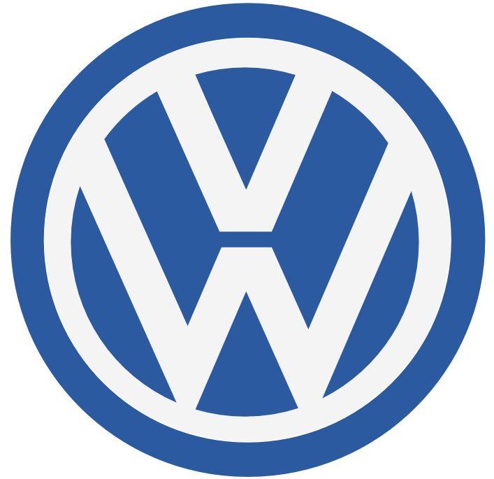 Logotipo plano Wolkswagen