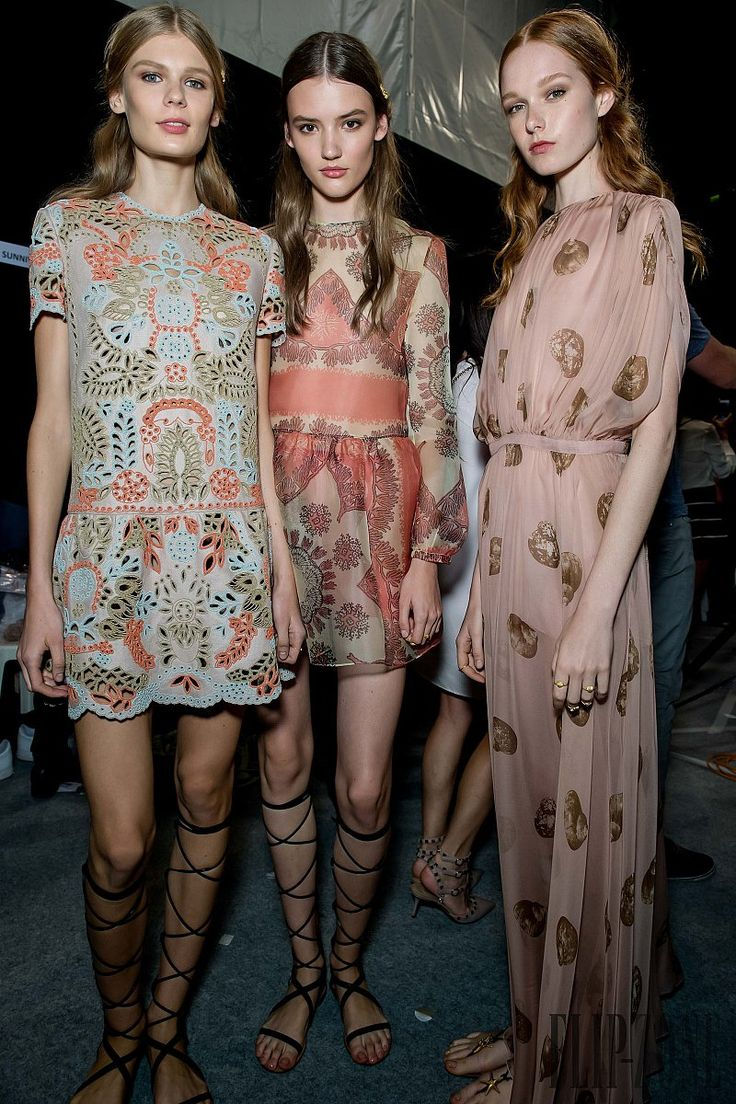 Valentino - Paris Fashion Week - Spring 2015 - Backstage