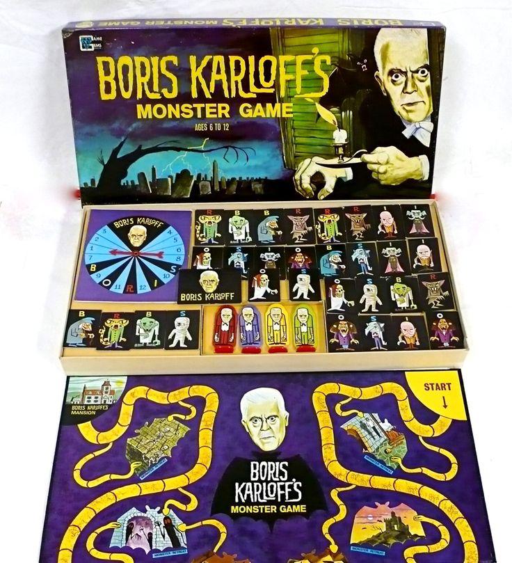 vintage monster board games