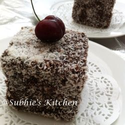 Lamington Cake - these are so popular in Hong Kong!!