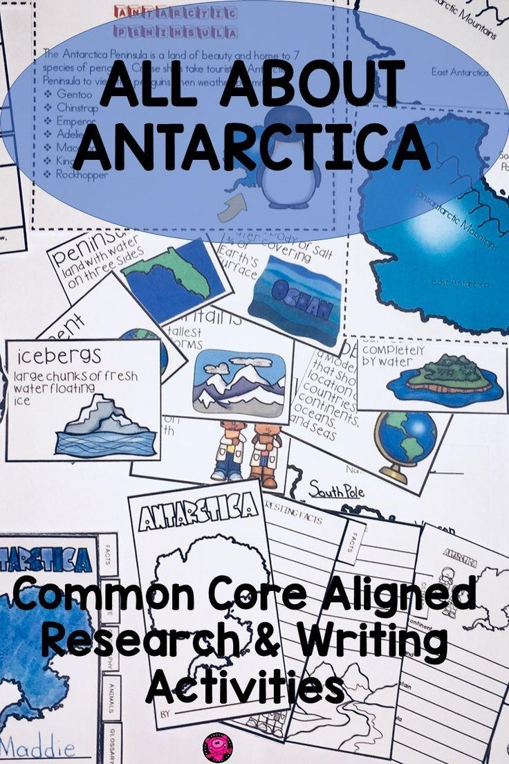Antarctica Unit Activities And Resource Pack Online Learning Tools Writing Activities Antarctica Activities [ 1104 x 736 Pixel ]