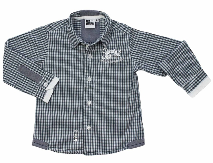 Camisa niño de cuadros | Shirt plaid Child