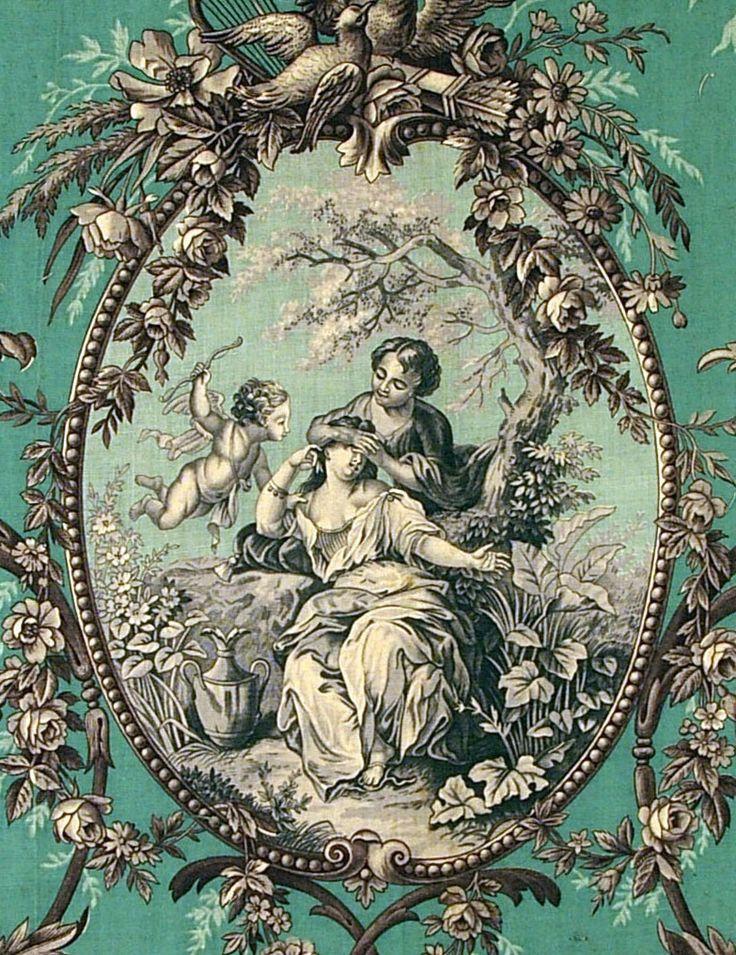 25 best ideas about toile de jouy on pinterest toile for Housse de couette toile de jouy