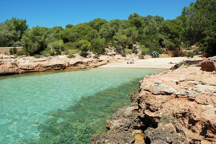 Cala Gracioneta, Ibiza, Spanje