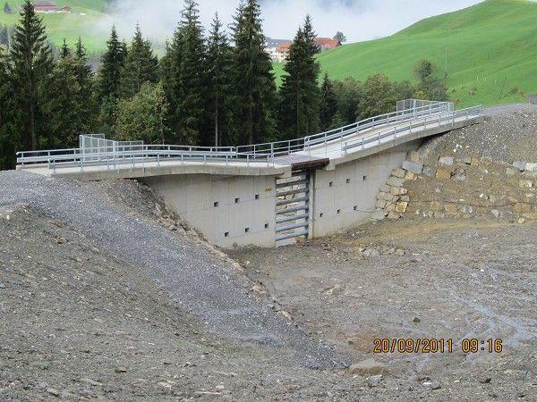 Rock slide protection. Schutzbauten Laui Sörenberg   Structurae