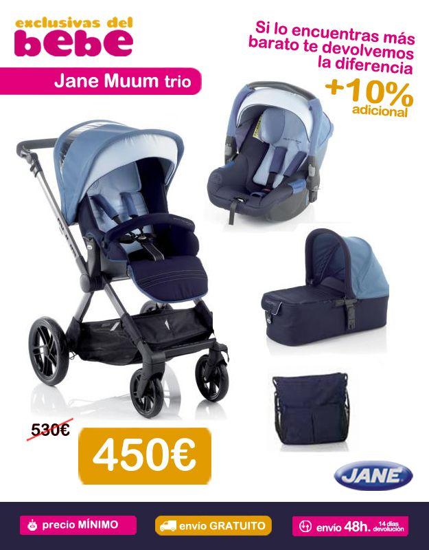 db9a3e86f Cochecito 3 piezas Jane Muum trio. ¡Disfruta de las mejores marcas gracias  a nuestras ofertas especiales! | Cochecitos de bebé 3 piezas | Carritos de  beb…