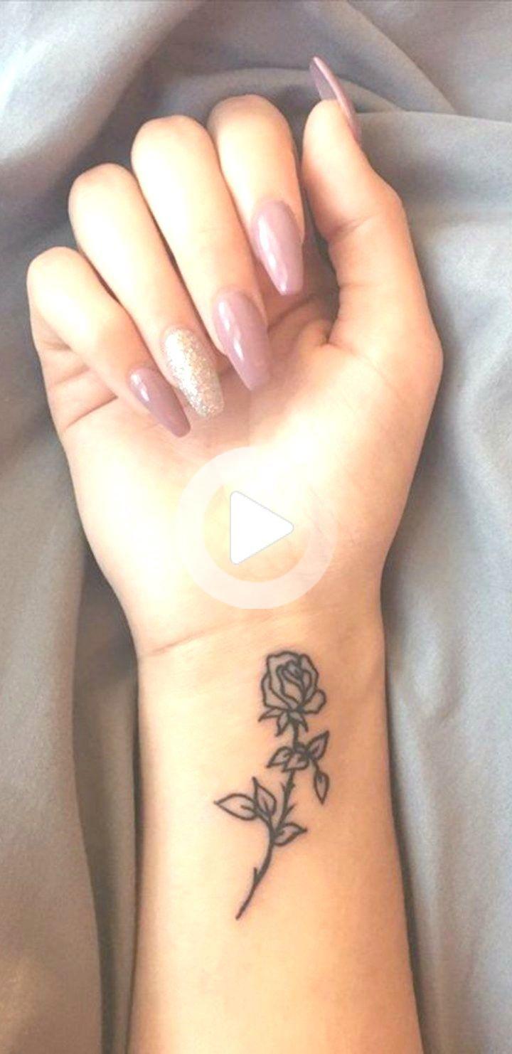 Small Rose Wrist Tattoo Ideas For Women Minimal Flower Arm Wrist Tattoos Womens Rose Tattoos On Wrist Small Rose Wrist Tattoo Wrist Tattoos
