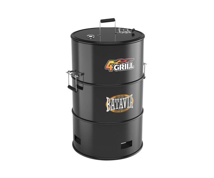 Stand 539 - 4-IN-1 BBQ: grillen, roken, slow cooking & haard