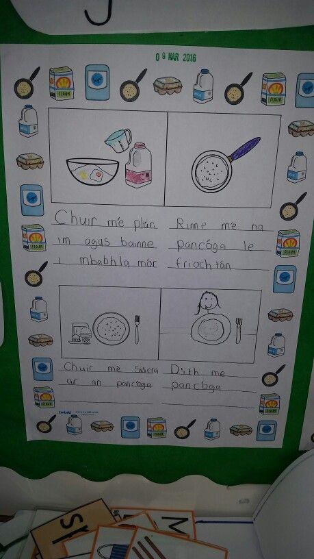 Gaeilge Pancóga