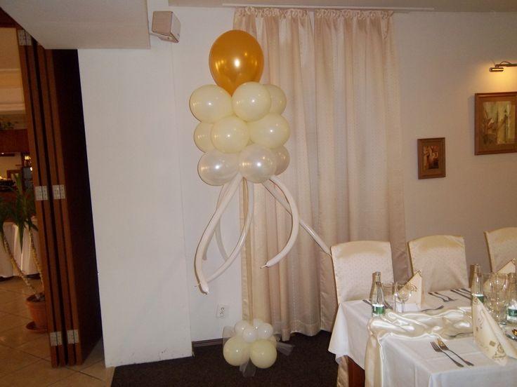 Balónový strom svadobný hélium