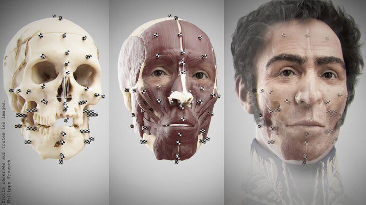 VISUALFORENSIC forensic facial reconstructions Reconstrucciones faciales 3D