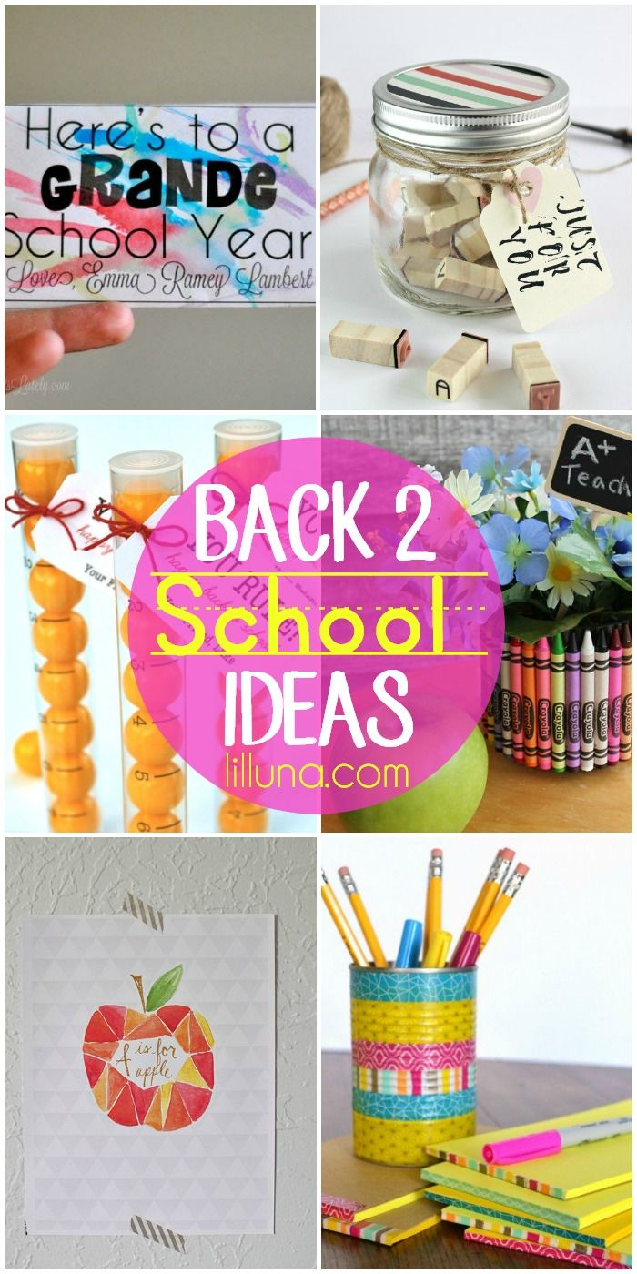 A roundup of printables, gift ideas, and more for back to school!! Check it out on { lilluna.com }