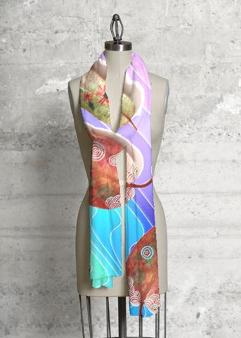 Modal Scarf - Sunset & Palms 58 by VIDA VIDA 649EXD