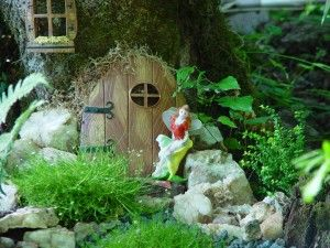 Fairies and friends welcome! - Miniature Fairy Gardening: Cottages, Furniture and Fairy Garden Supplies