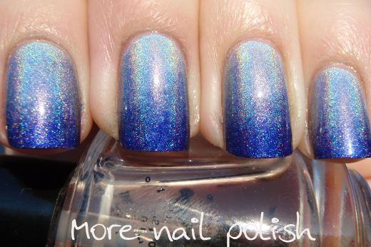 Holo blue gradientNails Art, Cobalt Nails, Hair Nails Makeup, Nails Nails Nails, Nails Polish, Up Nails