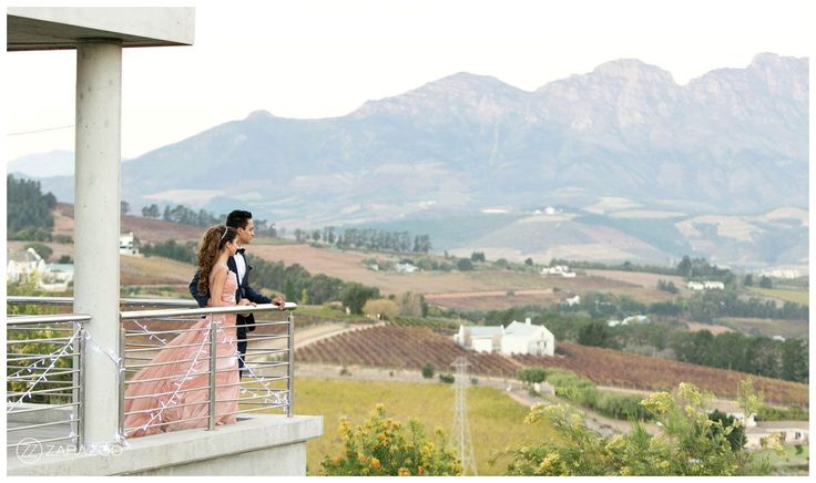 Beautiful wedding venue with Cape Mountains - South Africa