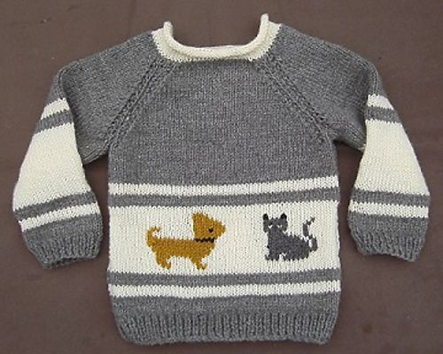 Free Pattern: Hond-Kat pullover