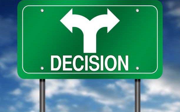 Οι τρεις αποφάσεις που ελέγχουν το μέλλον σας