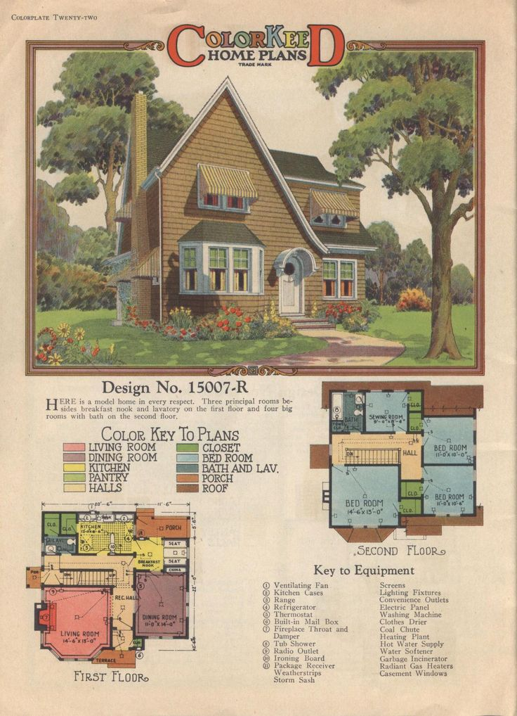 266 best images about vintage home plans on pinterest for 1920s house plans