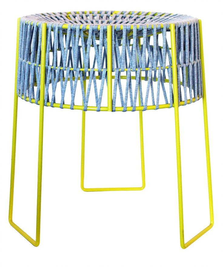 Stool - Chartreuse Frame