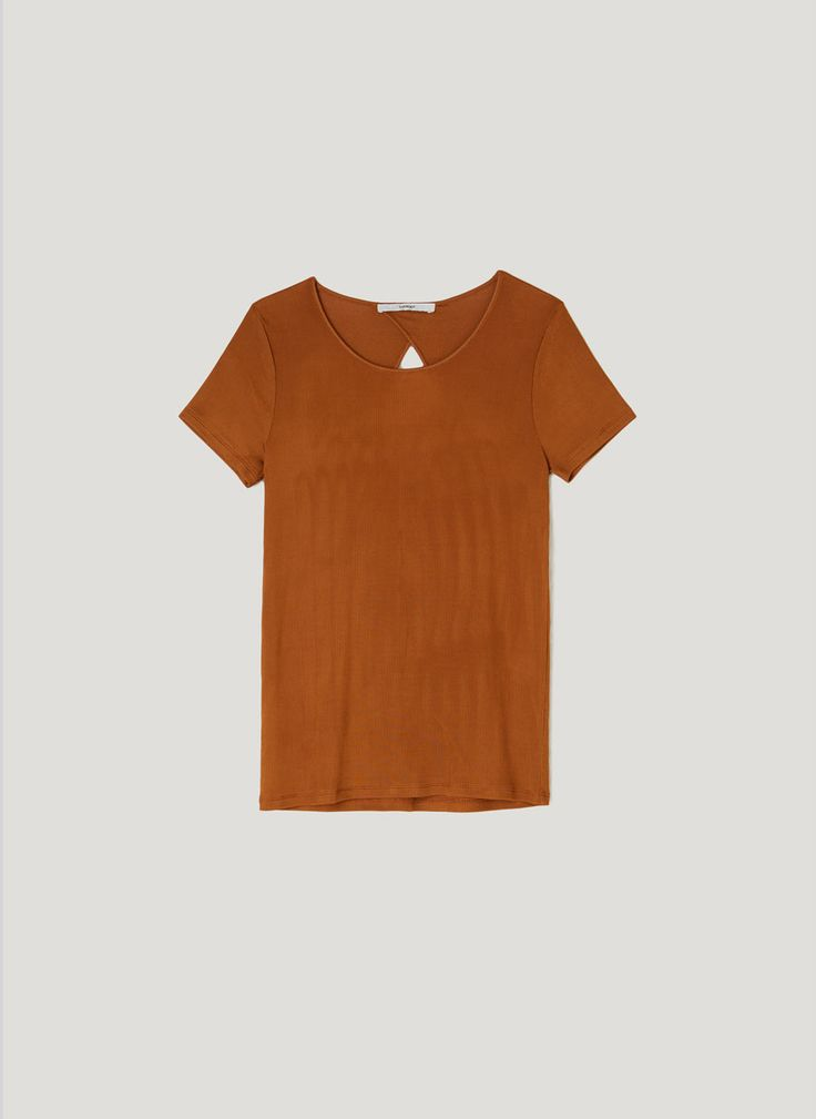 Camiseta manga corta - Tops y camisetas - Colección - Uterqüe España