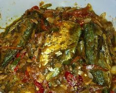 Indonesische Recepten: Ikan taotjo: Indonesisch gerecht van makreel met pepers en taotjo
