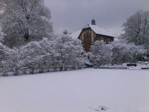 Johannesstift im Winter