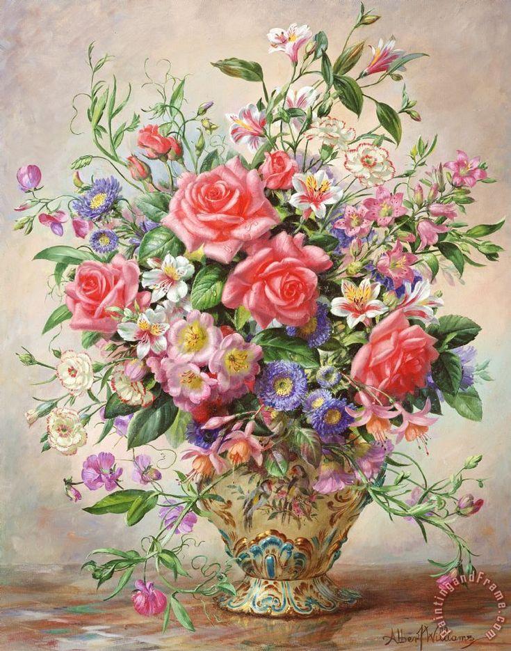 букеты цветов в картинах художников мастер-класс