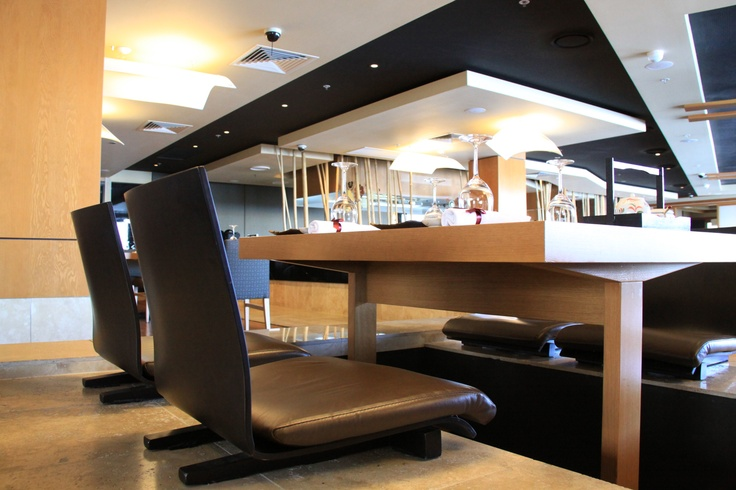 The fabulous Sono Japanese restaurant at Portside, great angles and ambience