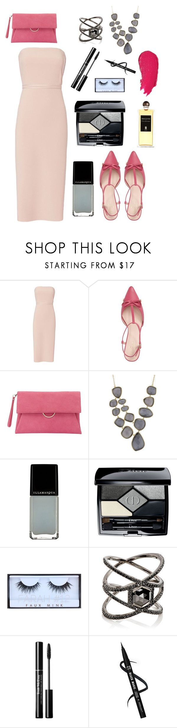 """Pink Spring"" by annabellalovesfashion ❤ liked on Polyvore featuring Elizabeth and James, Kate Spade, Mint Velvet, Marcia Moran, Illamasqua, Christian Dior, Huda Beauty, Eva Fehren, Lumene and Serge Lutens"