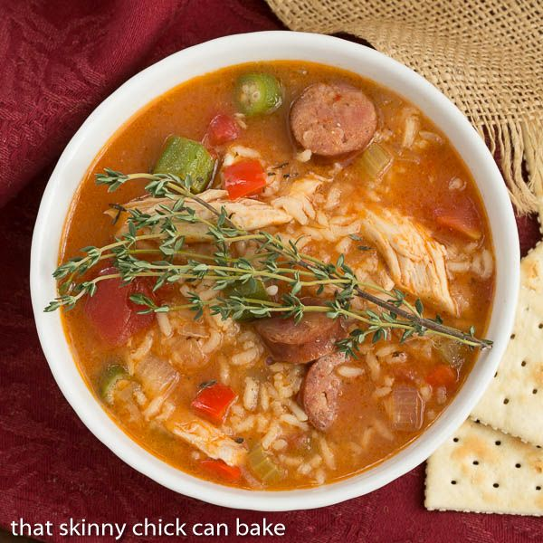 Chicken Jambalaya Soup is a taste of New Orleans made easy and the perfect dish for your Mardi Gras dinner.  A little spicy with loads of flavor from the classic holy trinity of Cajun cooking plus andouille sausage, this hearty soup will hit the spot! This post is sponsored by McCormick in conjunction with a social …