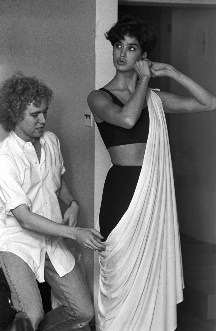 Michael Kors and Janice Dickinson