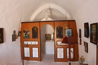 St George in Chora Castle on the island of Kalymnos |Discovering Kos and the surrounding islands http://www.discoveringkos.com/2014/05/st-george-in-chora-castle-on-island-of.html