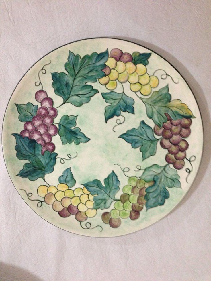 Pintura Prato de cerâmica