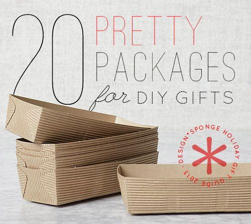 Gift Guide 2013: Packages, Boxes, and Tins for DIY Gifts - Design*Sponge