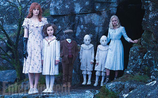 Miss Peregrine et les enfants particuliers se dévoile