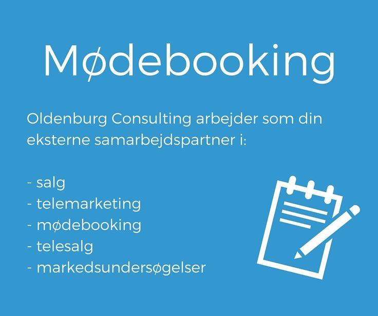 Hos Oldenburg Consulting er #mødebooking en af vores spidskompetencer. #oldenburg #consulting