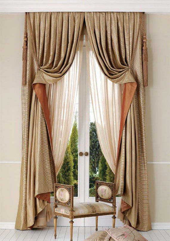 Impressive Curtains, Window Treatments And Decorations  35 Pictures