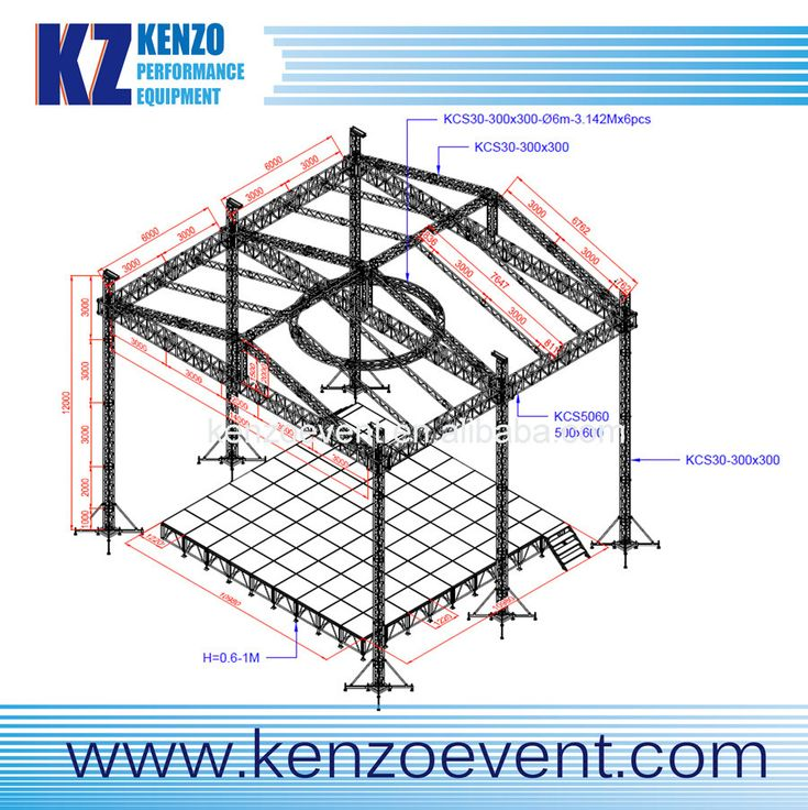 17 best images about truss and stage on pinterest for Truss roof system