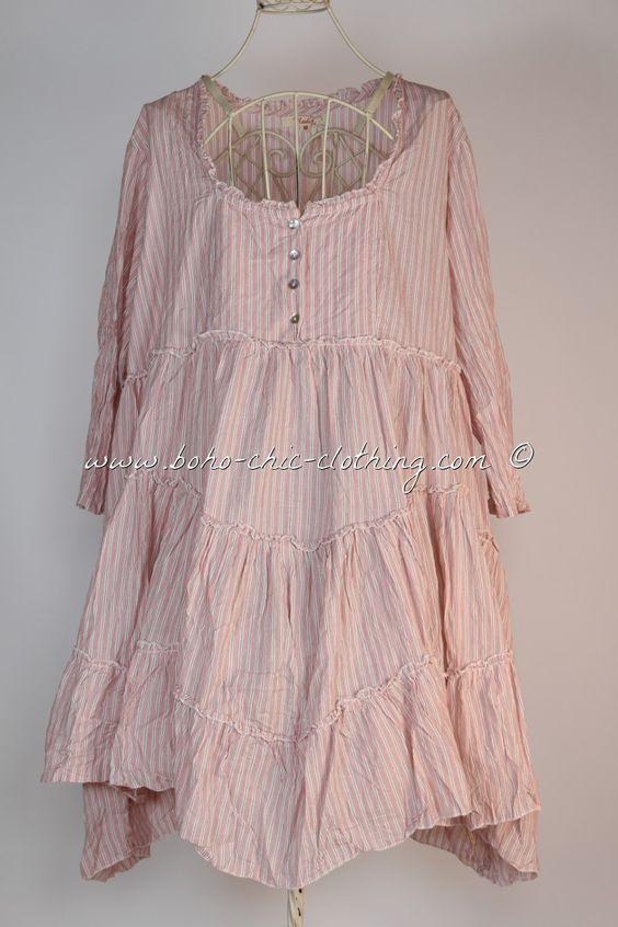 Dress INKA from Nadir Positano SS 2015 shabby chic, boho chic, lagenlook, mori girl