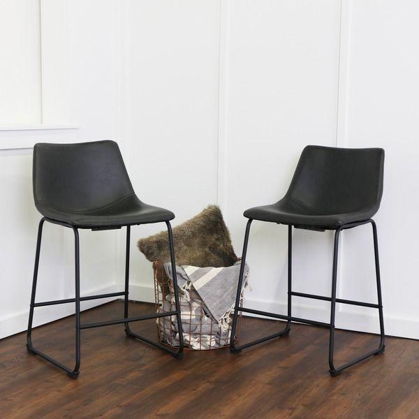 Elegant Chair and Stool Set